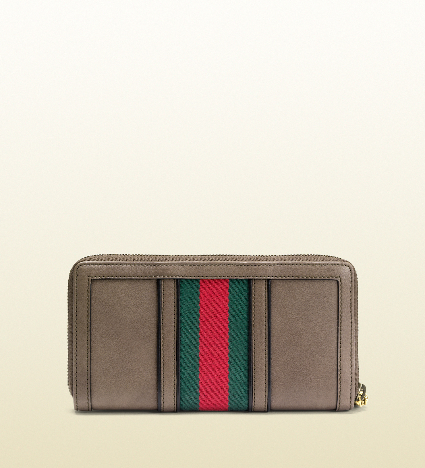 704bab643ed7a1 Lyst - Gucci Rania Original Gg Canvas Zip Around Wallet in Gray for Men