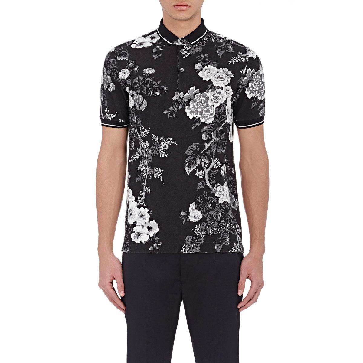 lyst dolce gabbana cactus printed silk t shirt in