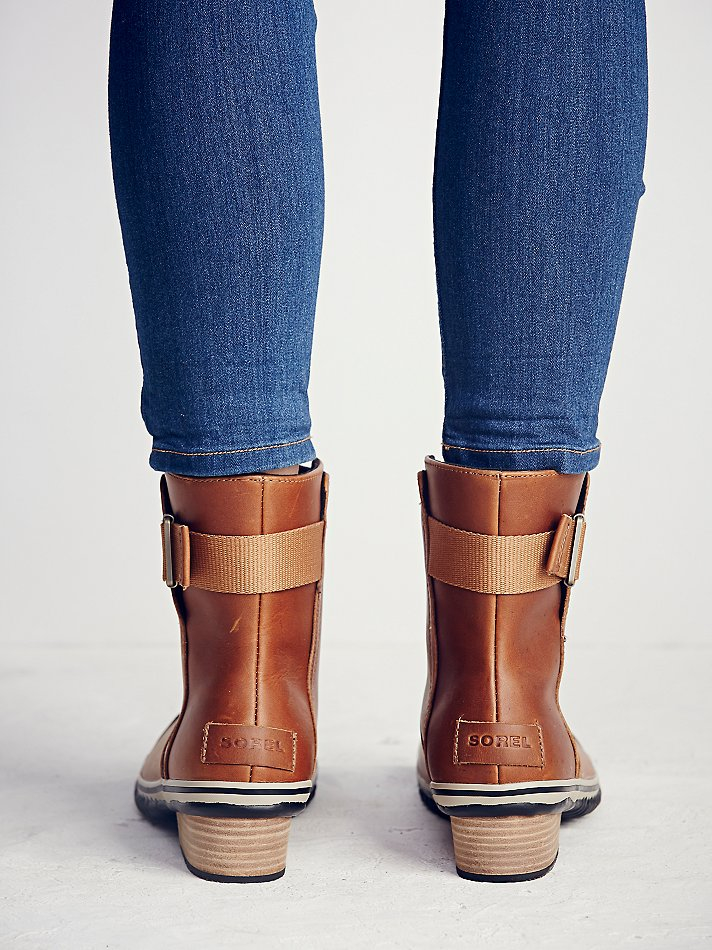 Free People Slimboot Pull-on Weather Boots in Brown