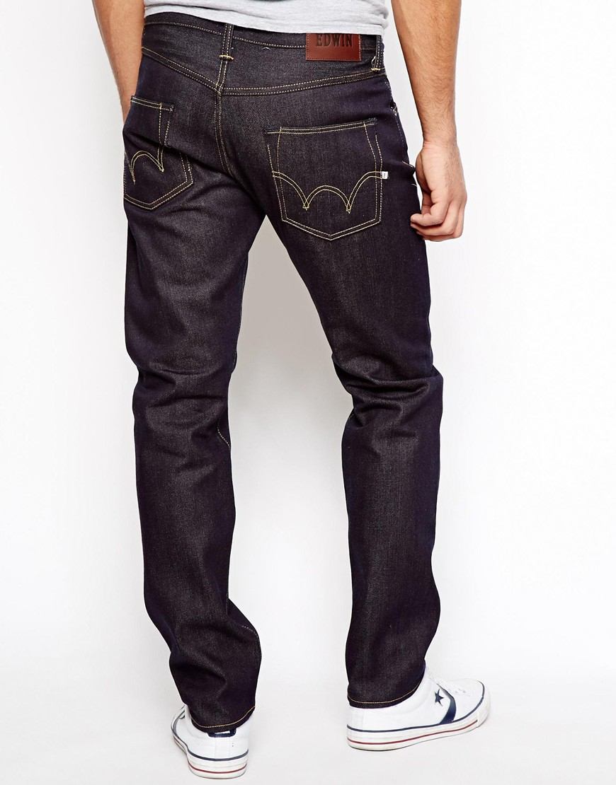 Edwin Jeans Ed55 63 Rainbow Selvedge Relaxed Tapered
