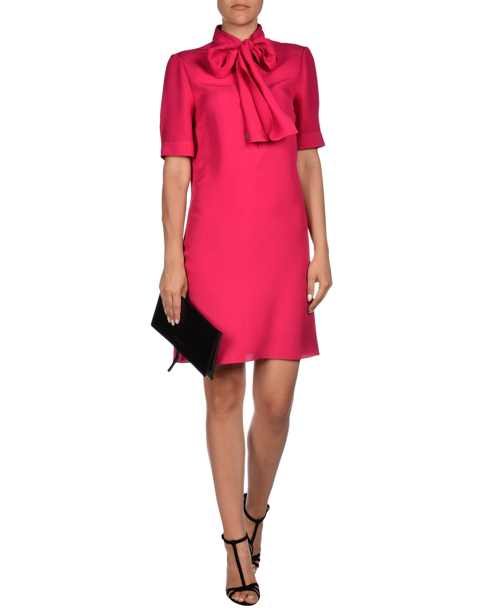 gucci short dress in pink lyst