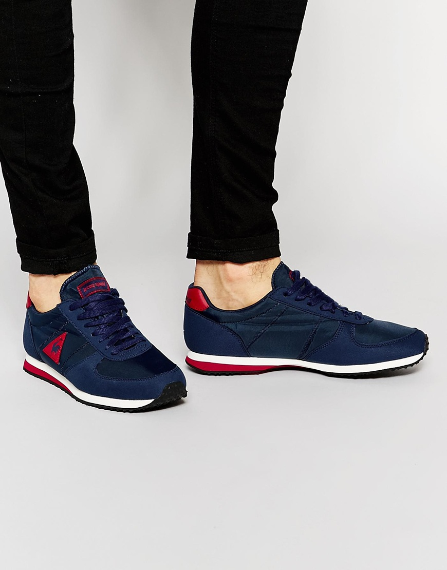 Lyst - Le Coq Sportif Bolivar Trainers in Blue for Men 2ef329a94