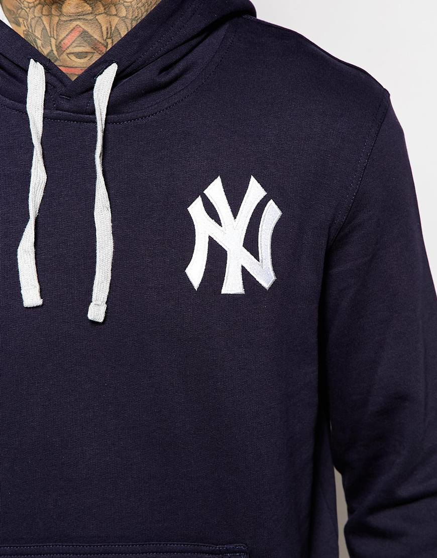 watch 35f5b 64a53 KTZ Blue Ny Yankees Hoodie for men