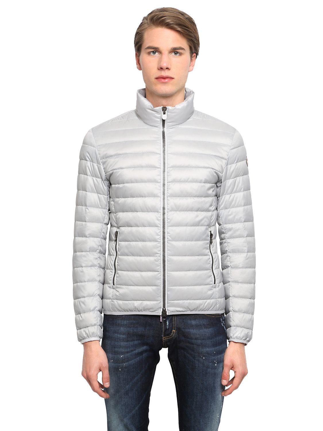 0d328d480b1 Colmar Quilted Light Nylon Down Jacket in Gray for Men - Lyst