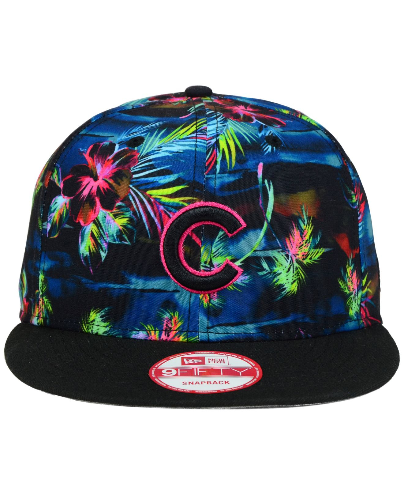 half off 27ee3 46d4c ... canada lyst ktz chicago cubs dark tropic 9fifty snapback cap in blue  for men bd911 6bf0b