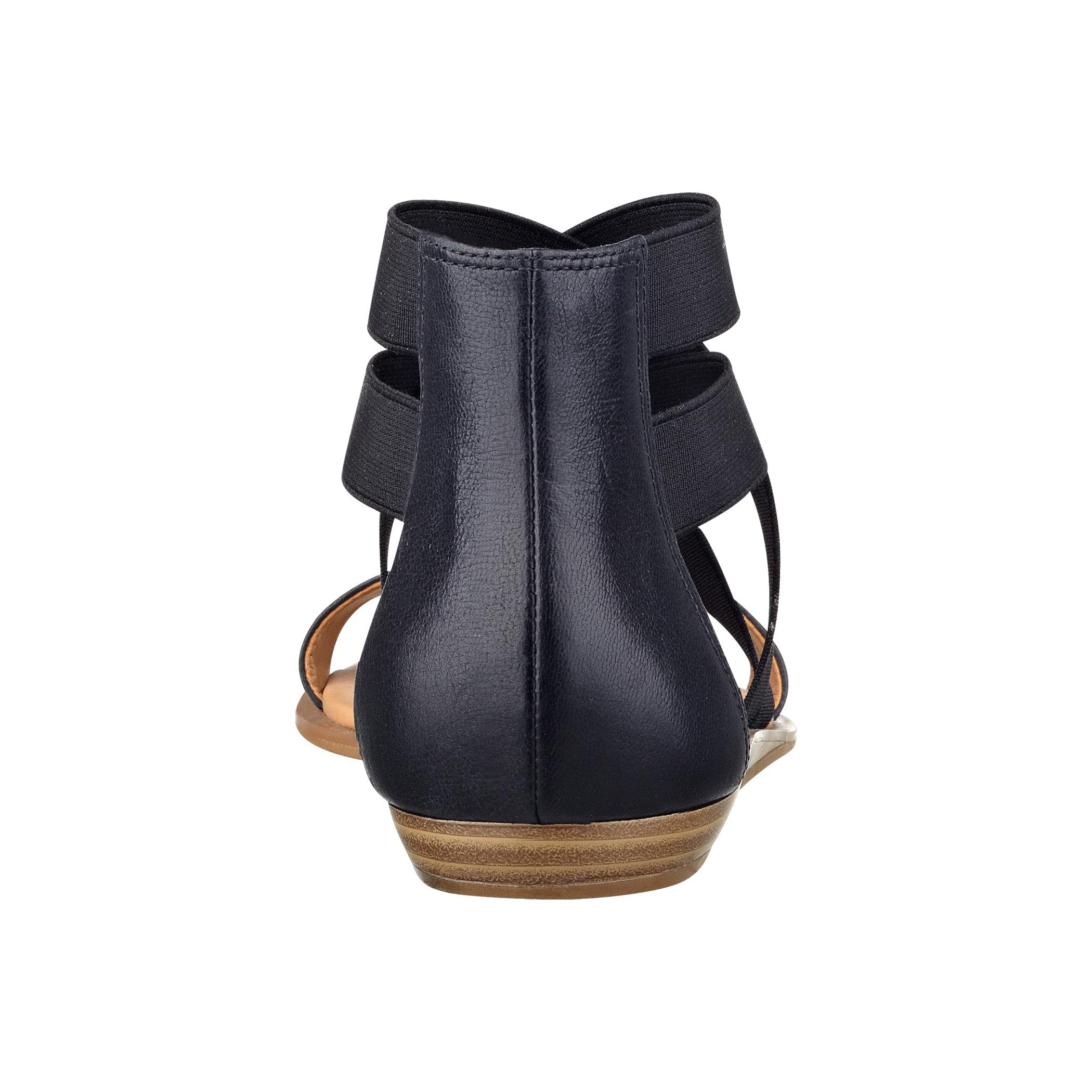 Nine West Voi Open Toe Cage Sandals In Black Lyst