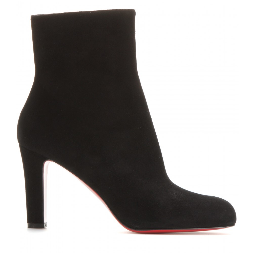 e411ae20d9f Christian Louboutin Black Miss Tack 85 Suede Boots
