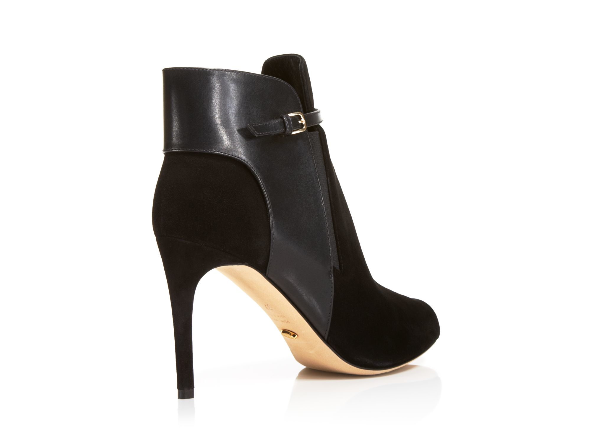 Sergio Rossi Leather Open Toe Boots y8GyGU