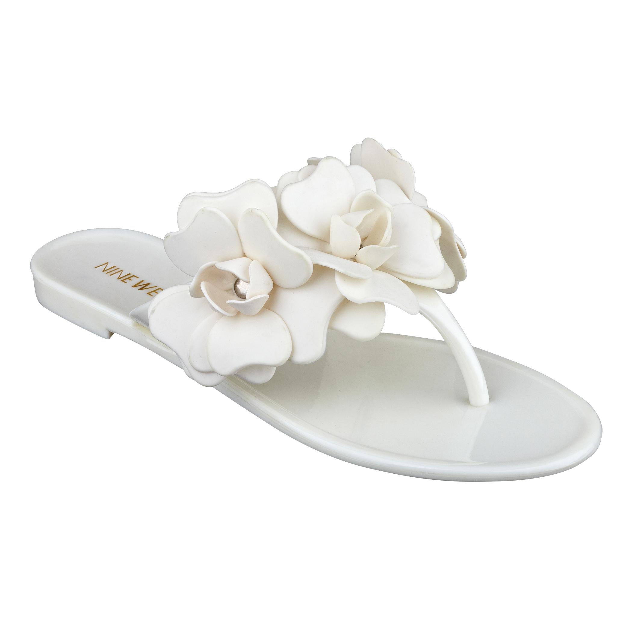 Macinee Jelly Thong Sandal Nine West 396WKLoPmI