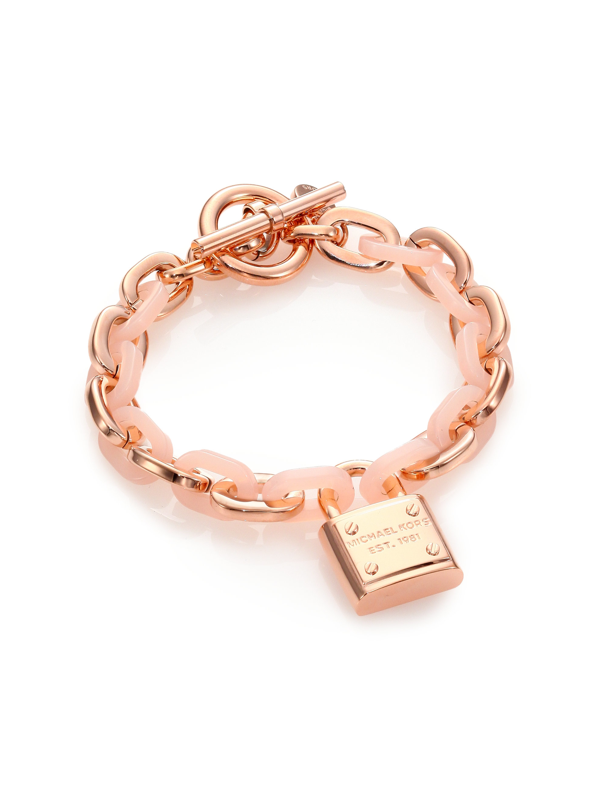 88cd151696968 Gallery. Previously sold at  Saks Fifth Avenue · Women s Michael Kors Charm  Women s Gold Bangles Women s Tennis Bracelets ...