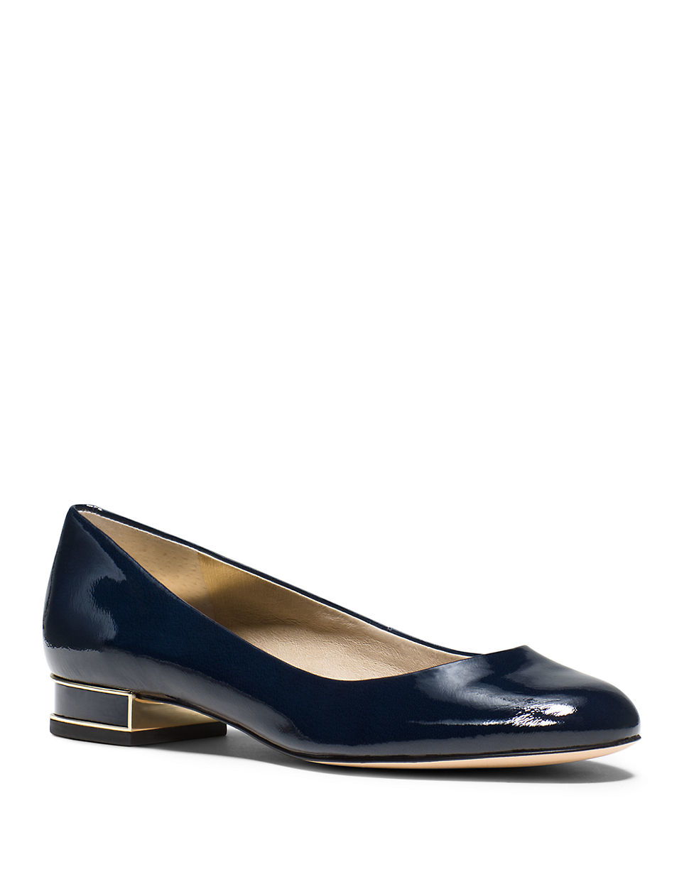 michael michael kors patent leather dress shoes in