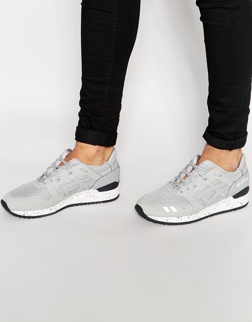 brand new ff710 04d8f Asics Gray Gel-lyte Iii Ns Sneakers