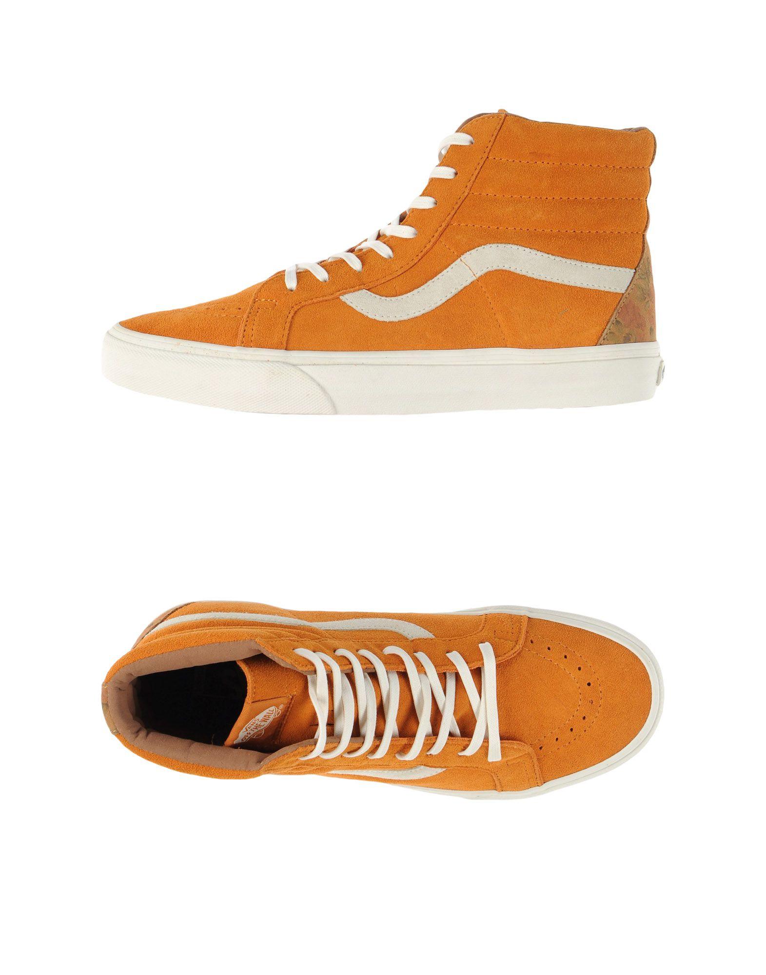 Shop \u003e orange vans high tops- Off 77