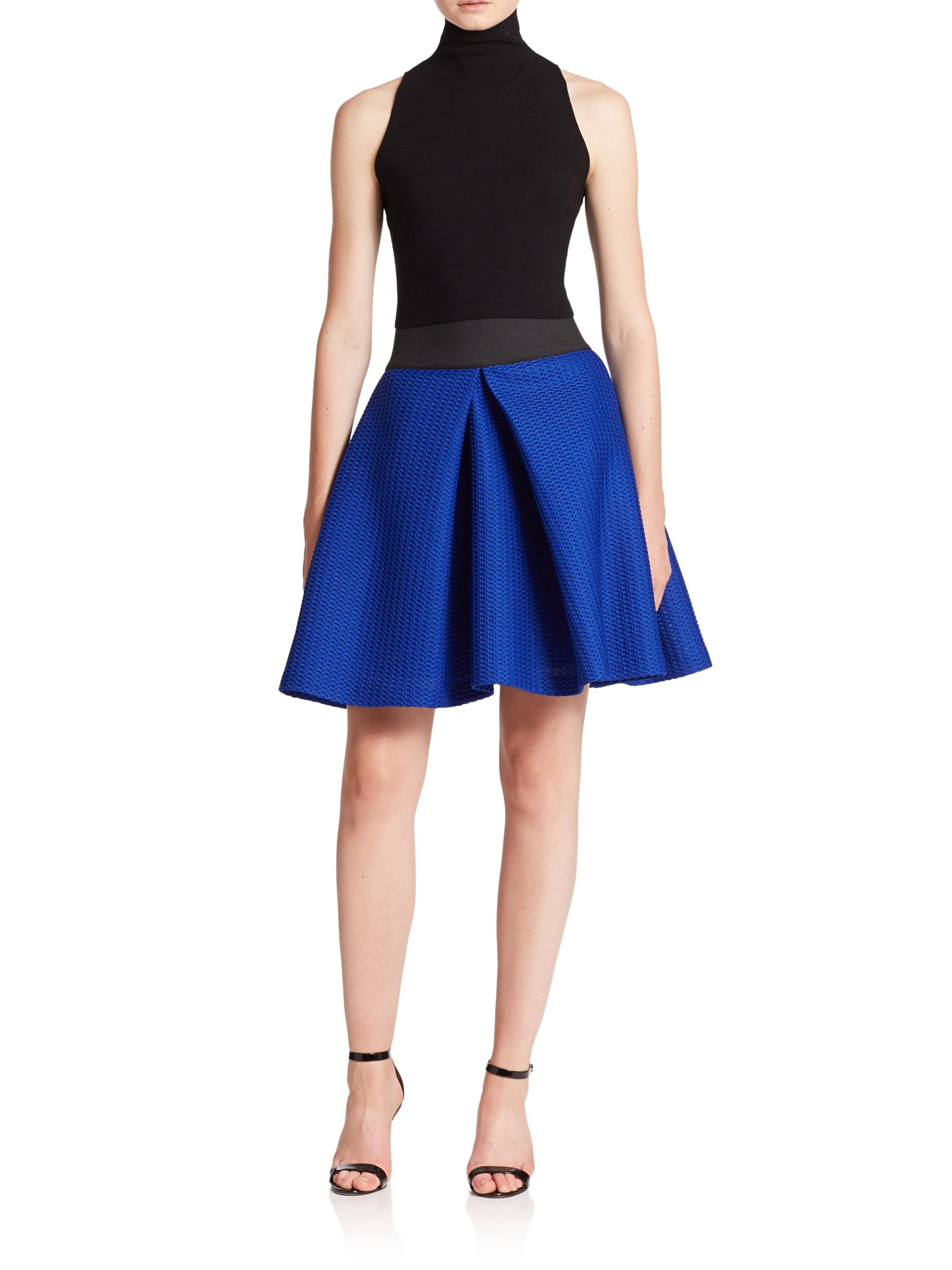 Blue Bubble Skirt 4