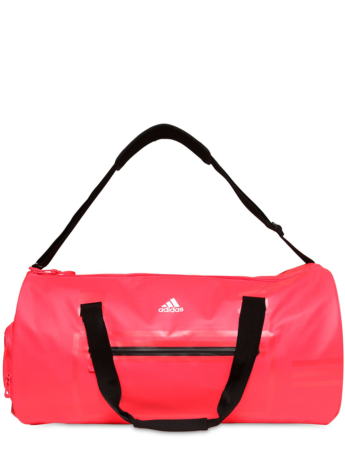 114dffa7db0 Lyst - adidas Originals Water Repellent Coated Nylon Duffle Bag in Red