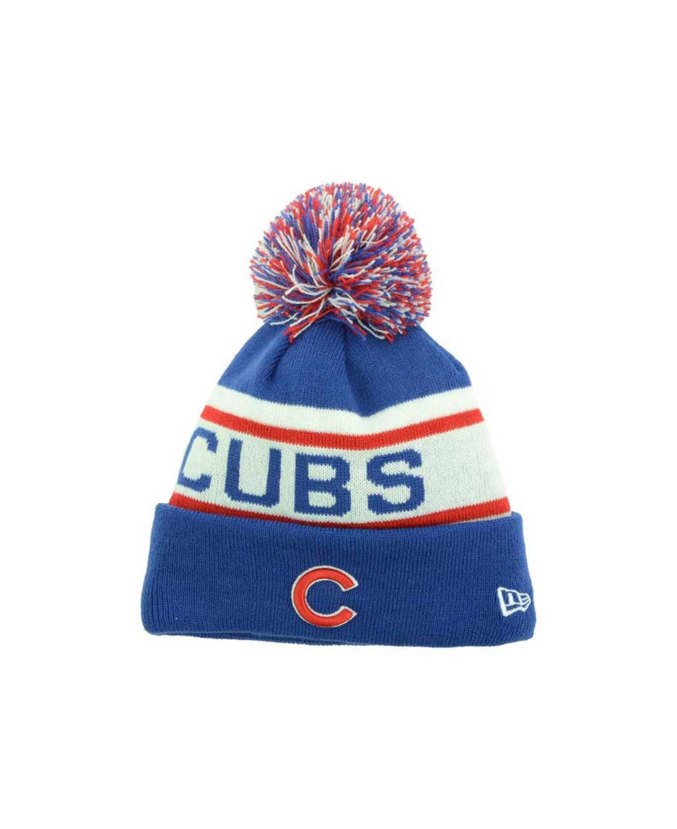 Lyst - KTZ Kids  Chicago Cubs Biggest Fan Knit Hat in Blue for Men 1ebca0a38cc