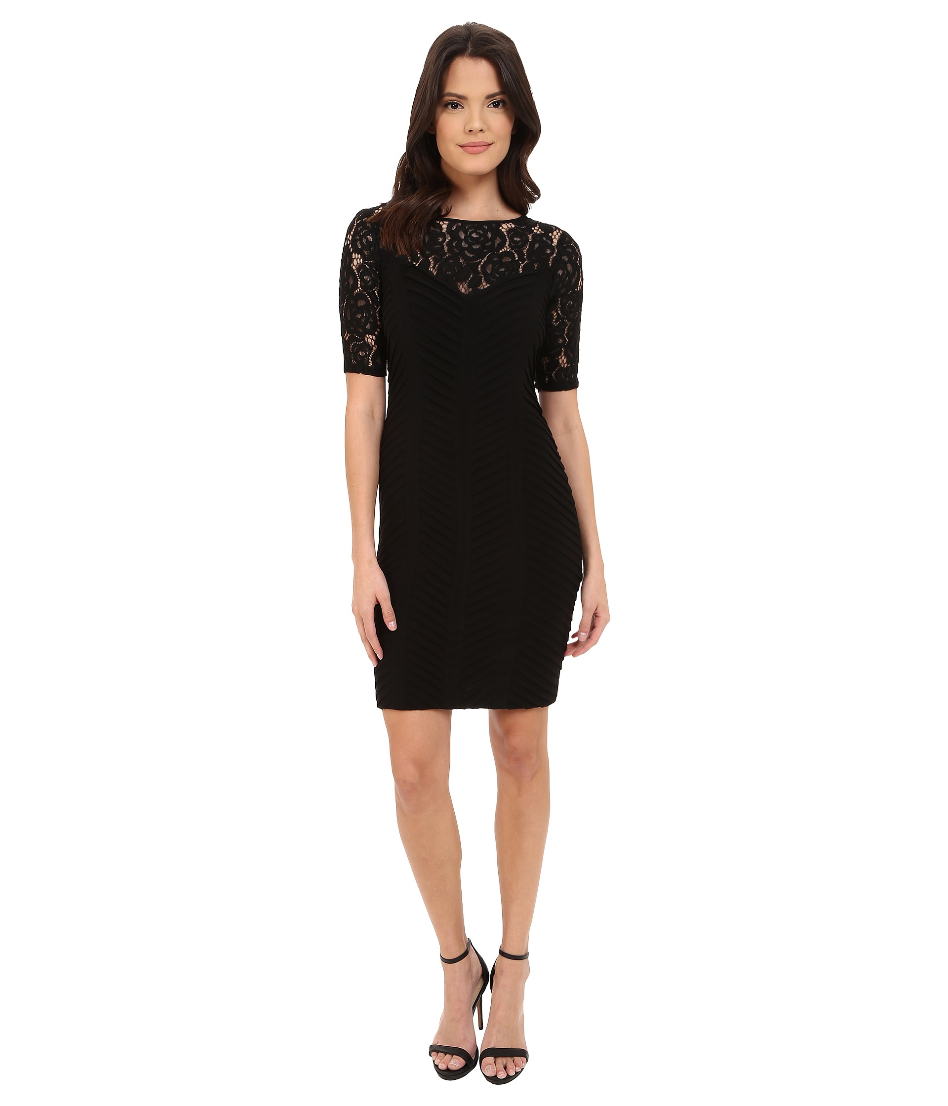 Stores adrianna papell sequin bodycon dress quartz knitting with sleeves