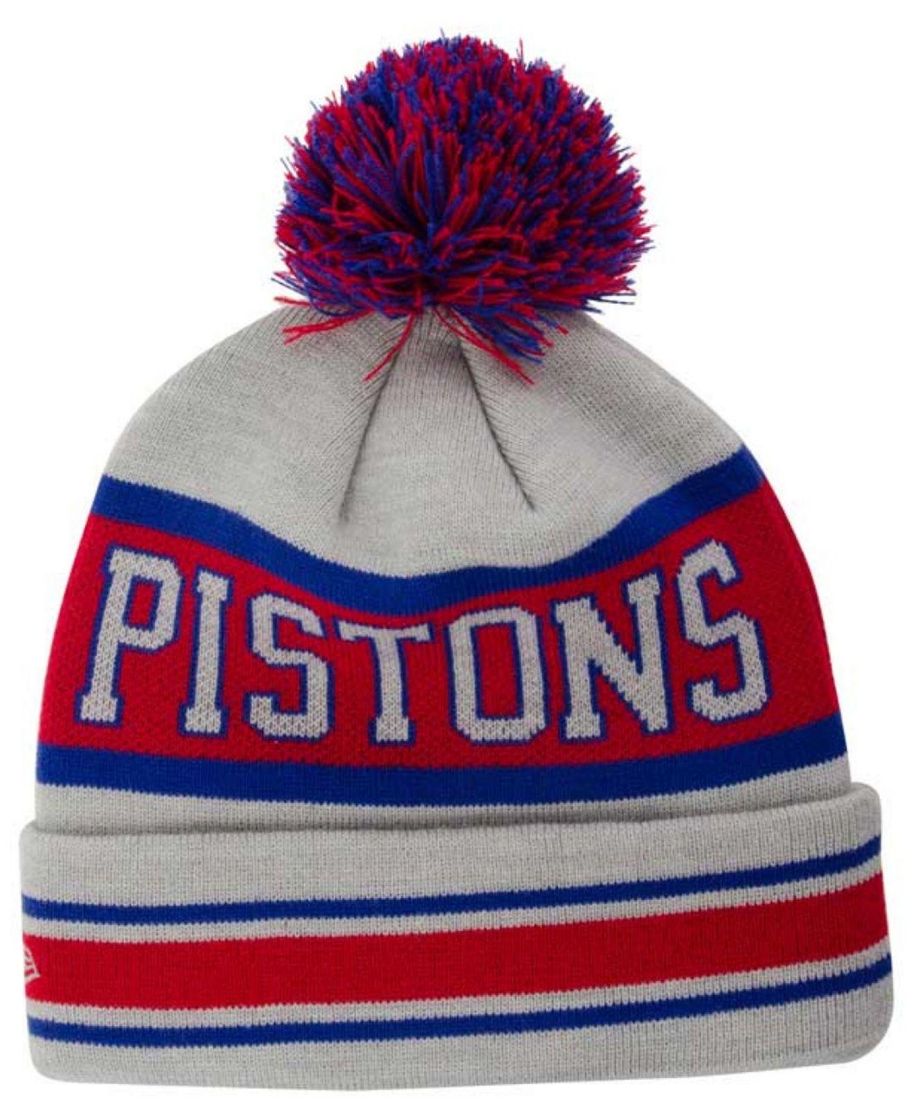 reputable site 4863d 39a87 ... ebay lyst ktz detroit pistons fashion biggest fan knit hat for men  94ac9 ab1c5
