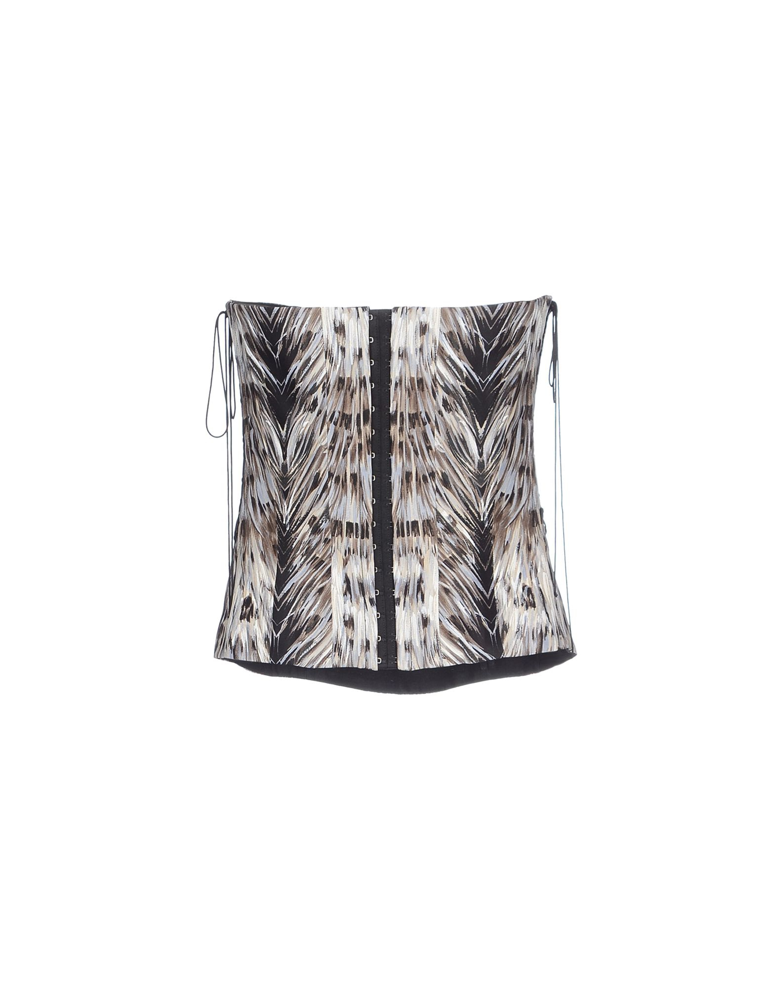 lyst - roberto cavalli tube top in natural