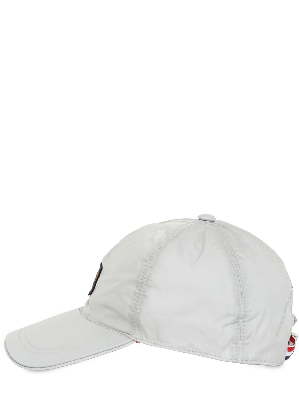 Paul Amp Shark Nylon Baseball Cap In White For Men Lyst