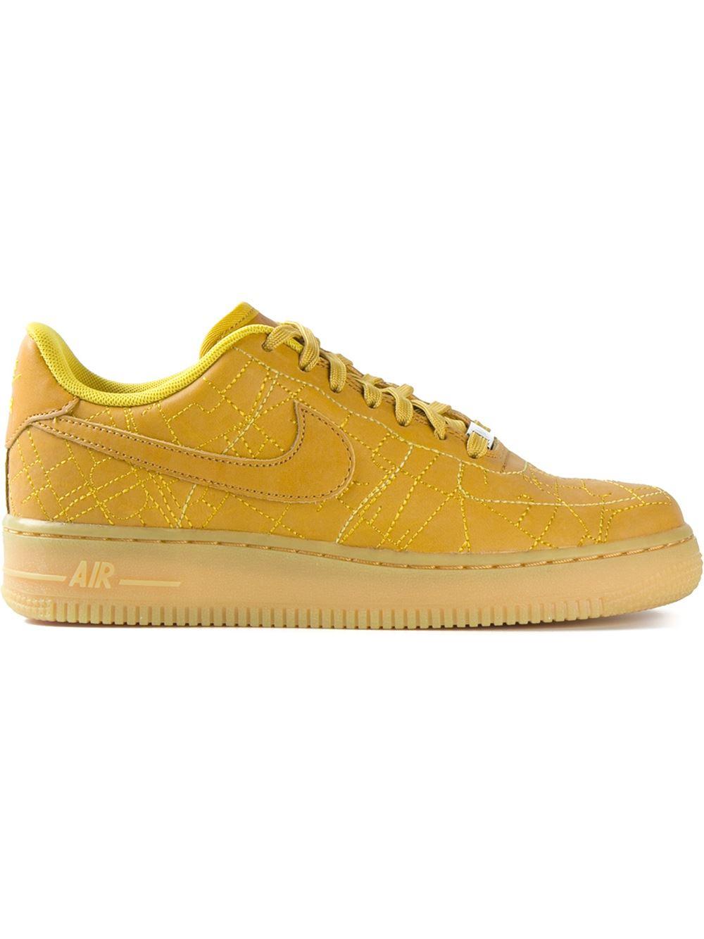 nike air force yellow