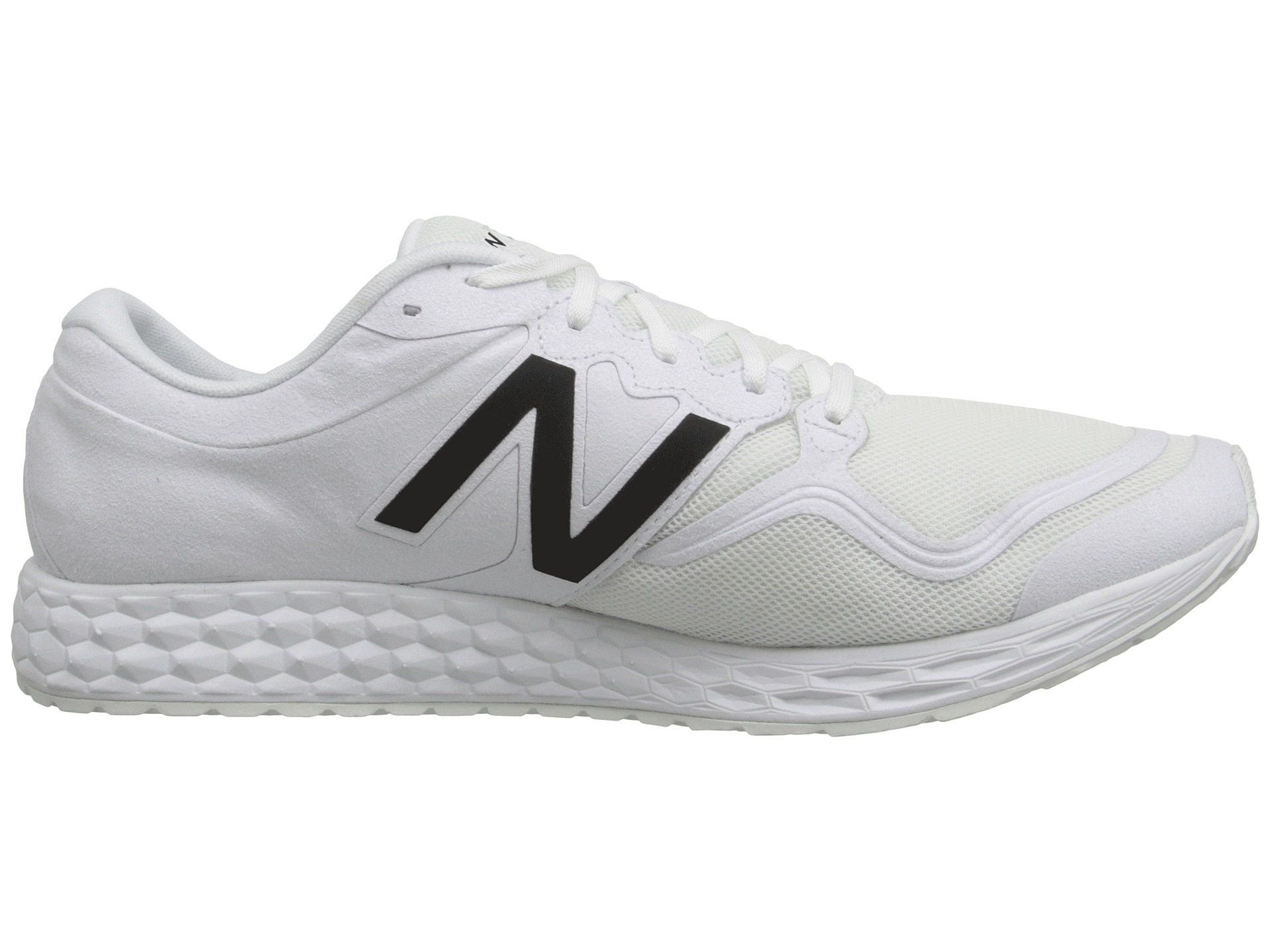 New Balance Leather Ml1980 in White for