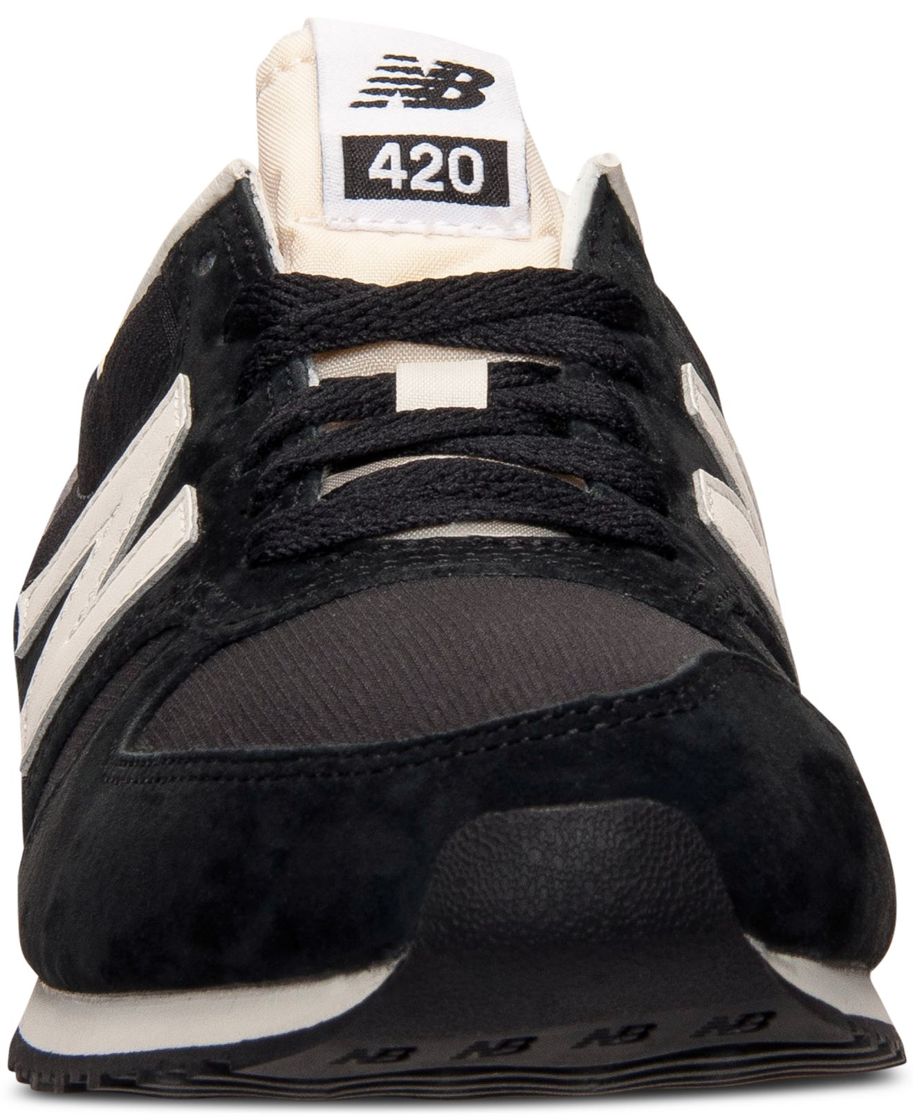 Men's 420 Pigskin Casual Sneakers From Finish Line