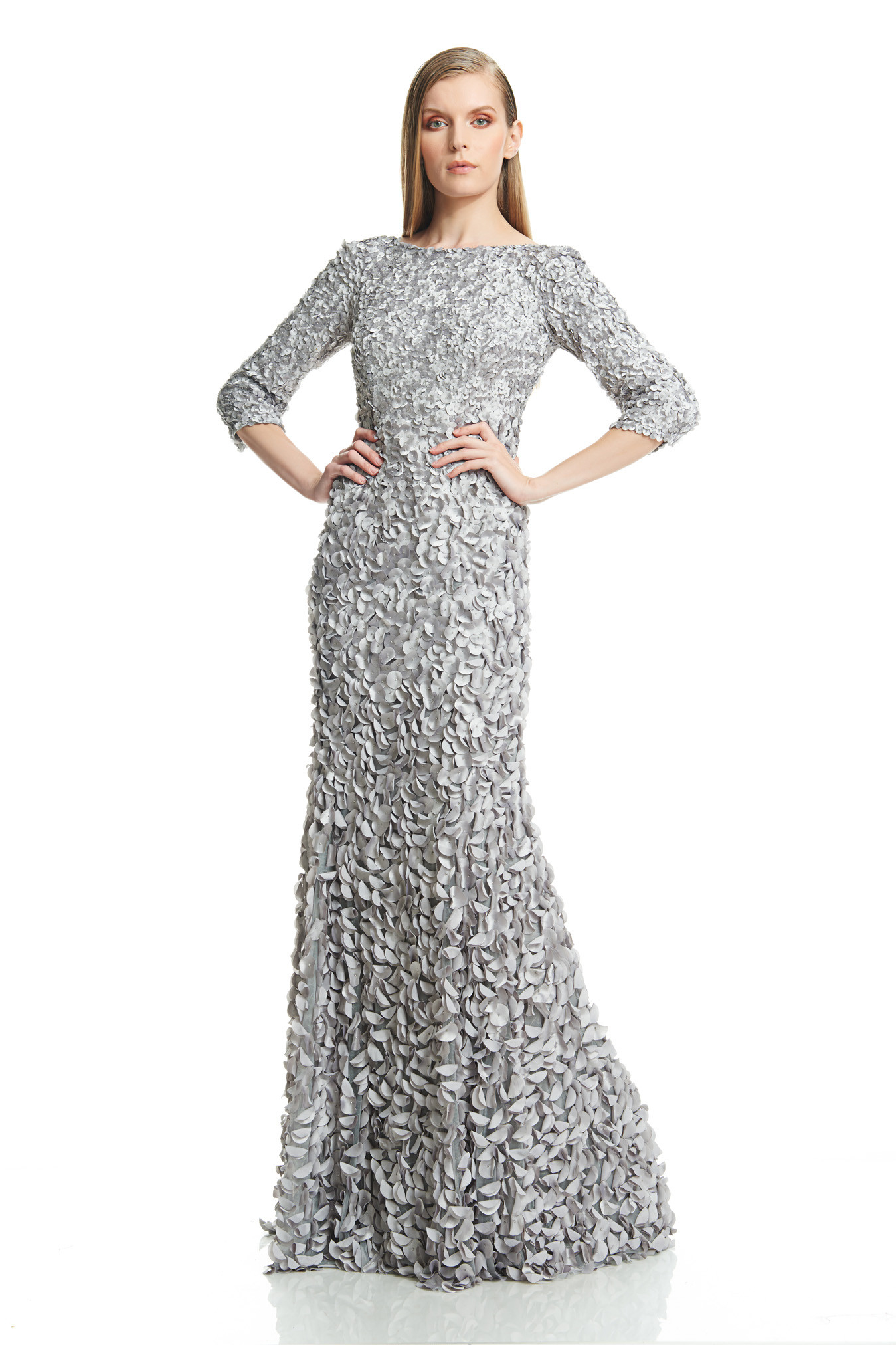 Unique Theia Gown Sale Adornment - Wedding and flowers ispiration ...