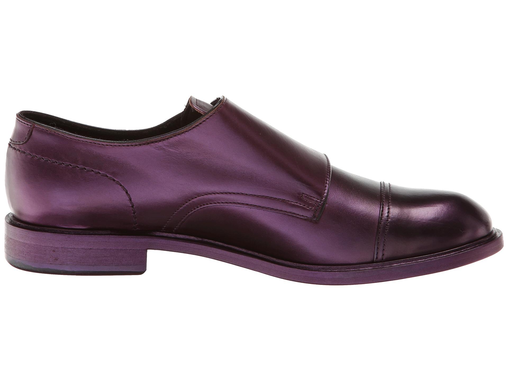 perdere la calma Buttar via Scoiattolo  Paul Smith Men Only Consul Monkstrap in Purple - Lyst