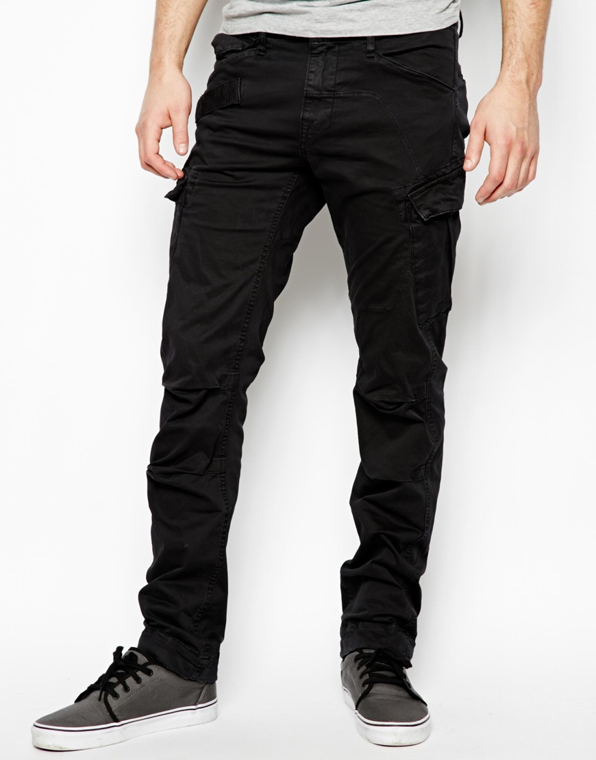 G-star raw Cargo Trousers Rovic Slim Fit Stretch Micro Twill in ...