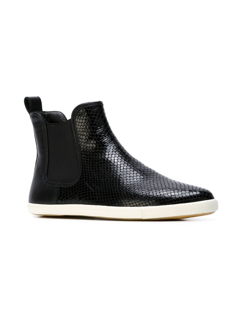 e066497674ece Couleur Varie No 578258 Kroll Barrie Said Gore Sneaker Boots. Gallery. Lyst  Marc By Jacobs Slip On Ankle Boots In Black