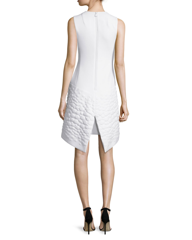 White neoprene apron - Gallery