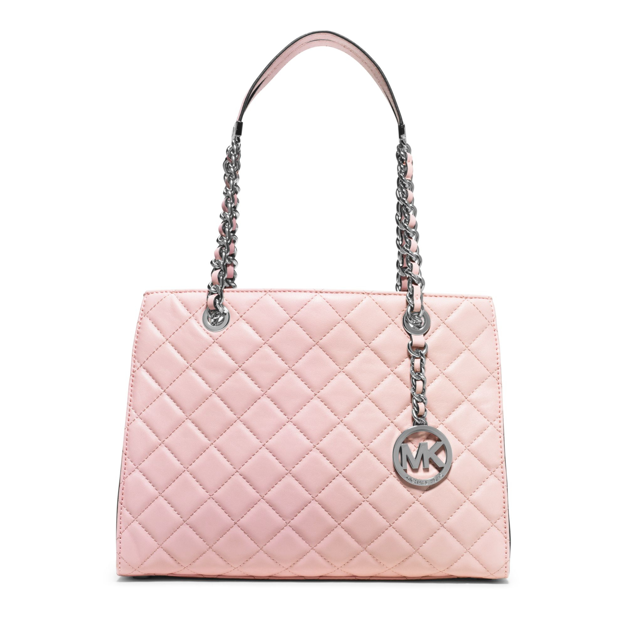 Lyst Michael Kors Susannah Medium Quilted Leather Tote