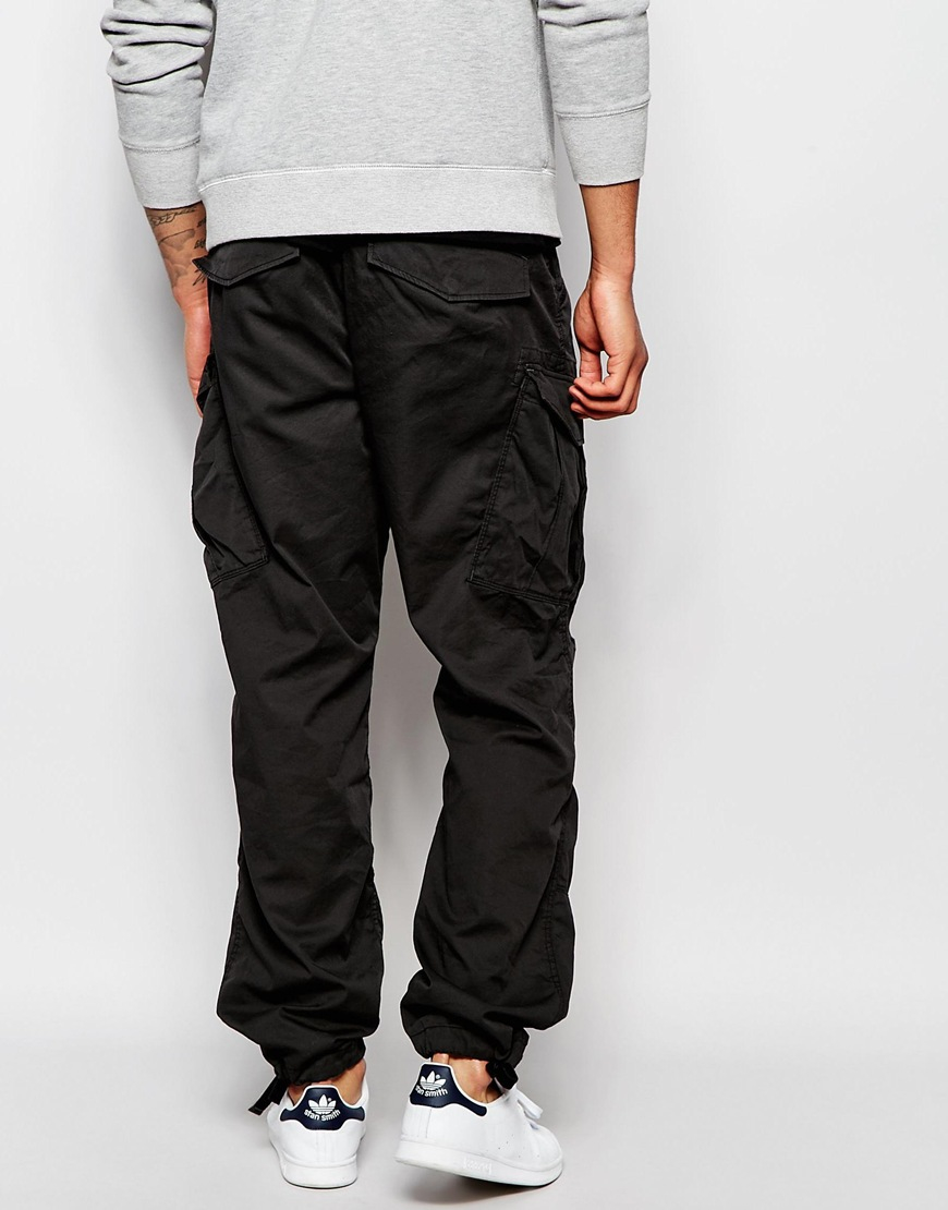 g star raw cargo pants exclusive to asos rovic twill loose. Black Bedroom Furniture Sets. Home Design Ideas