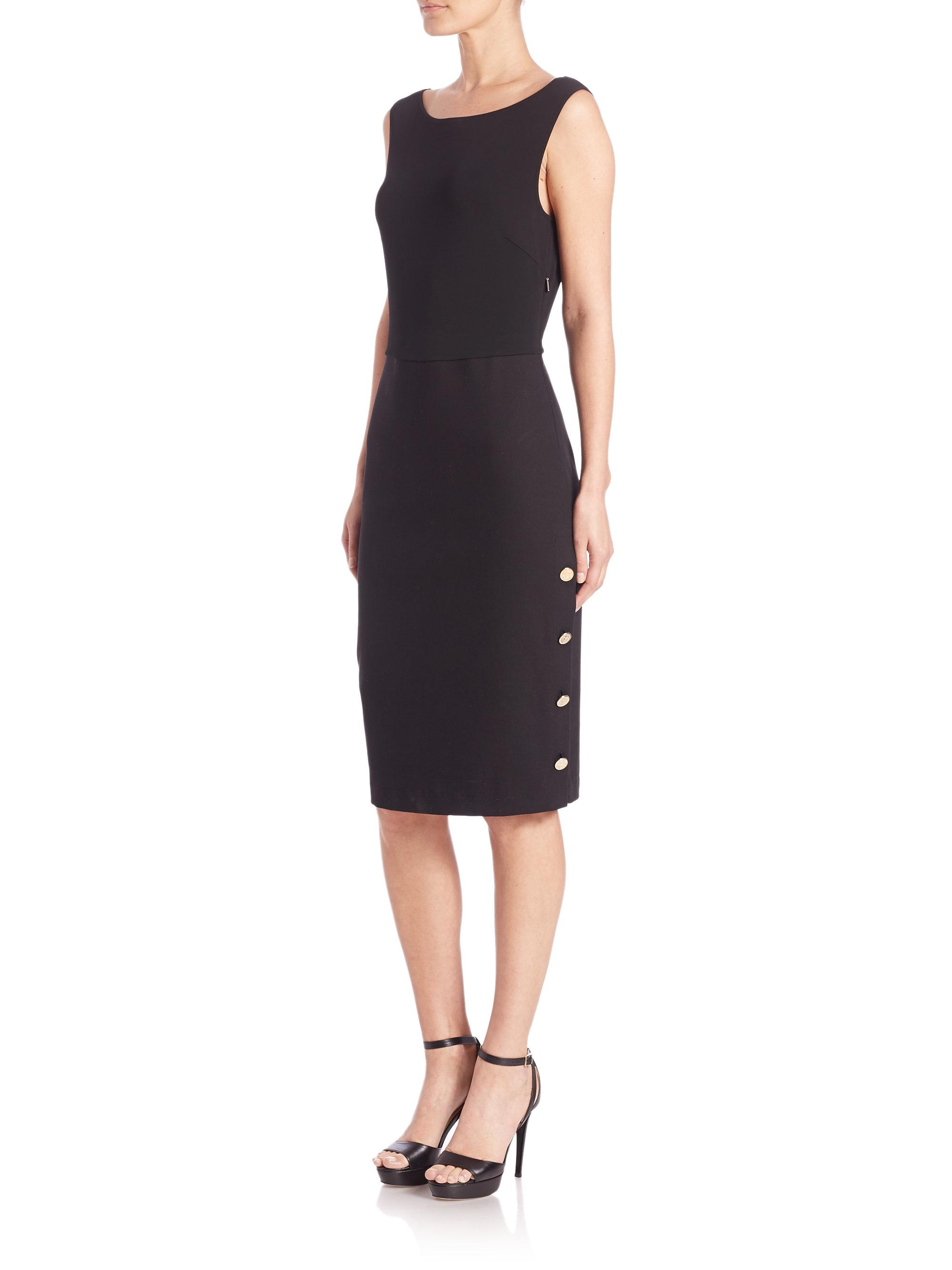 Max Mara Bassano Sleeveless Dress In Black Lyst