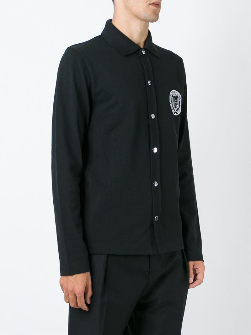 Raf Simons Patch Shirt in Black for Men