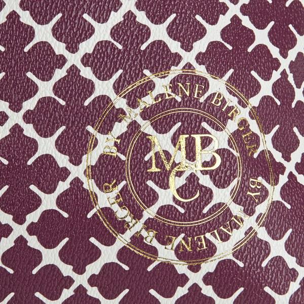 By Malene Birger Women'S Grineeh Printed Tote Bag in Red (Purple)