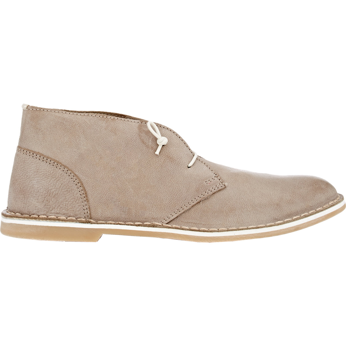 barneys new york burnished chukka boots in for