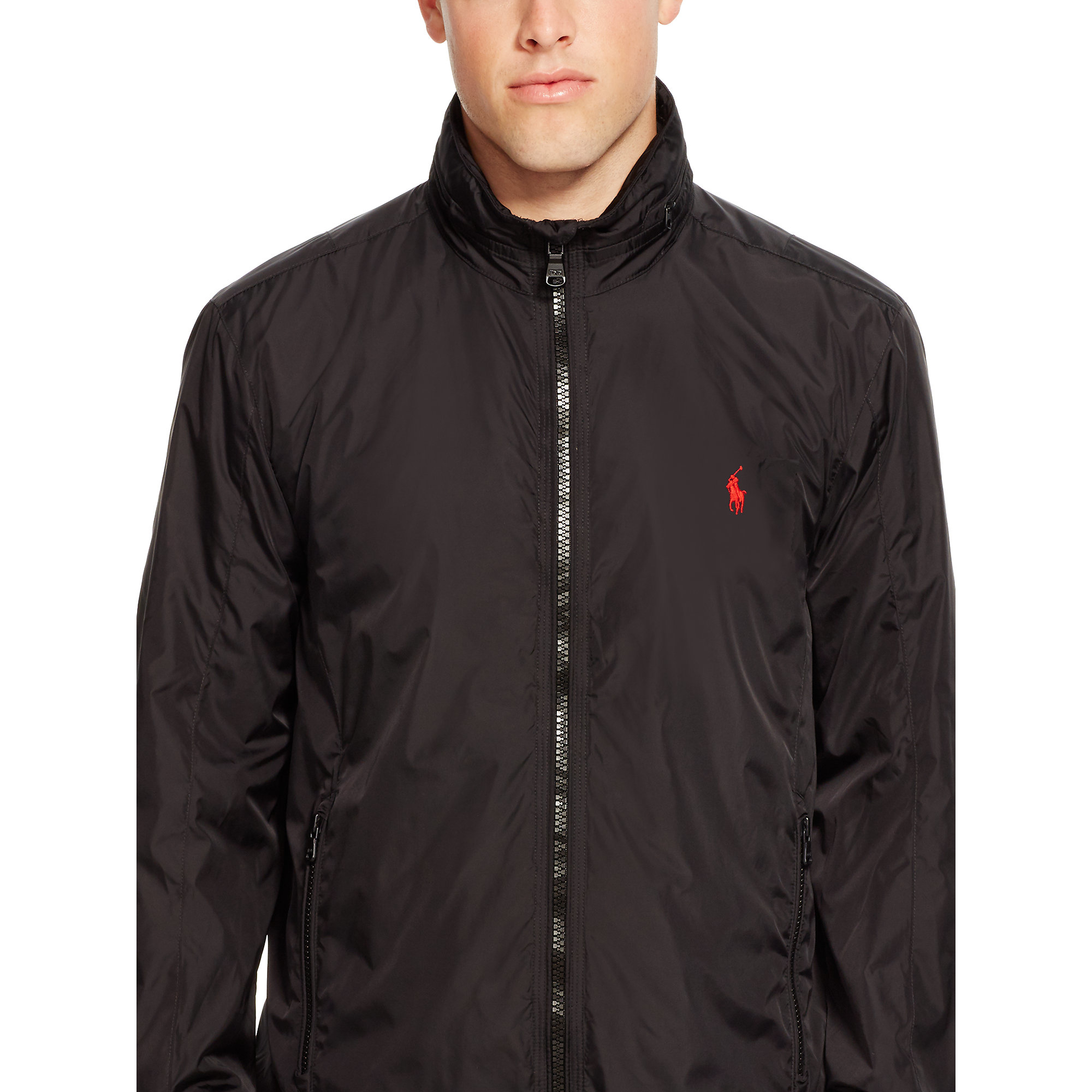 Polo Black Jacket Fit Jacket