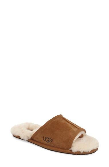 3394ee84c0f8 Lyst - UGG Mellie Slide Slippers in Brown