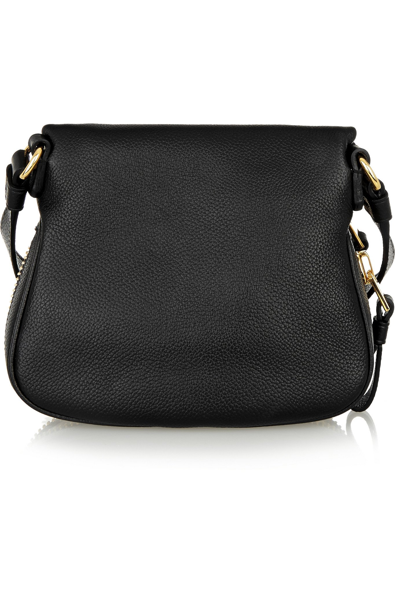 11c72cb68150 Tom Ford Jennifer Mini Textured-leather Shoulder Bag in Black - Lyst