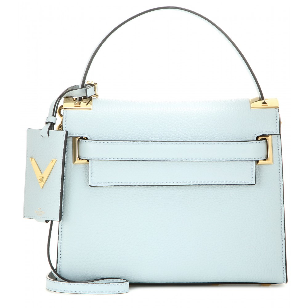 Lyst Valentino My Rockstud Small Leather Shoulder Bag In