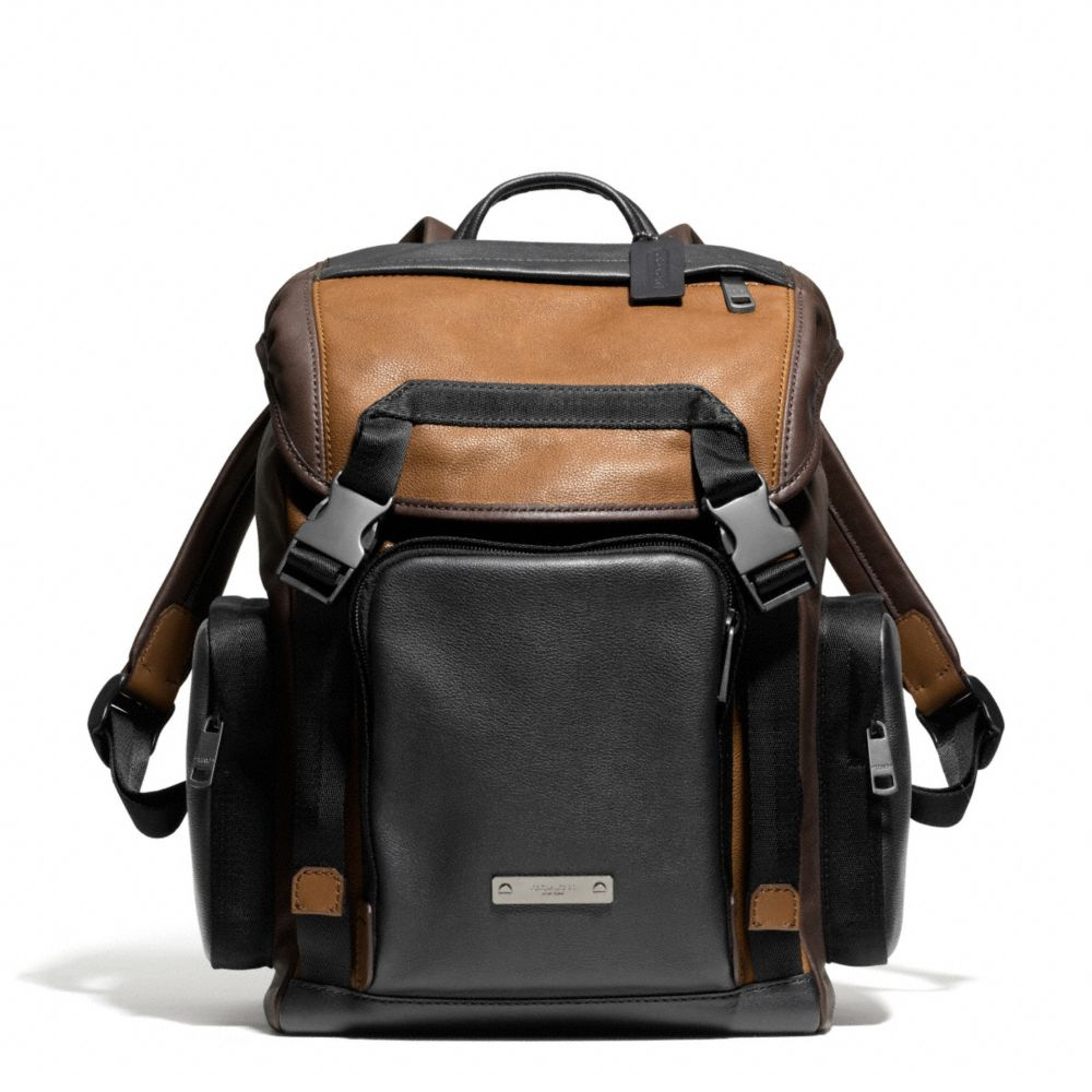 Lyst - Coach Thompson Backpack in Colorblock Leather in ...