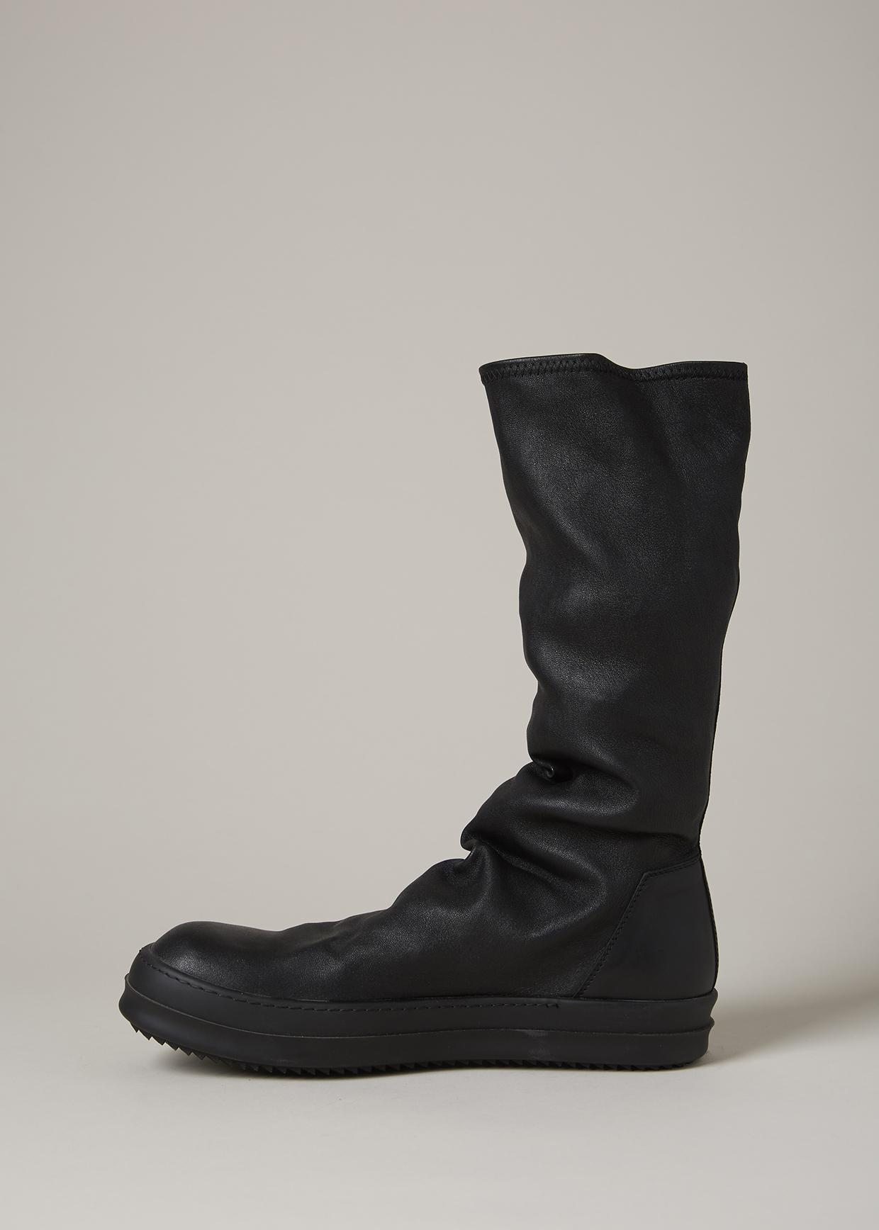 Chaussures De Sport Chaussette Rick Owens - Noir aXtwB