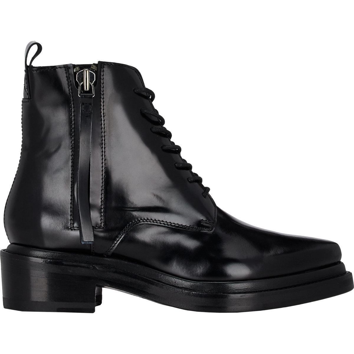 10c4f92806b3 Lyst - Acne Studios Women s Spazzolato Linden Boots in Black