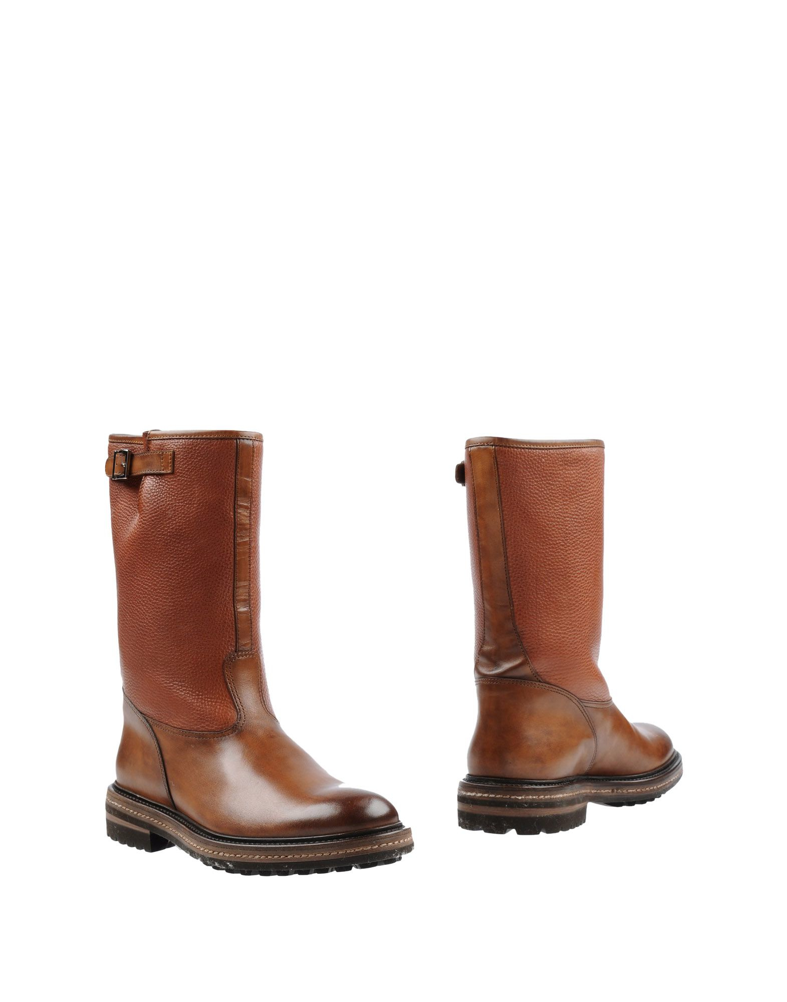 santoni boots in brown for lyst