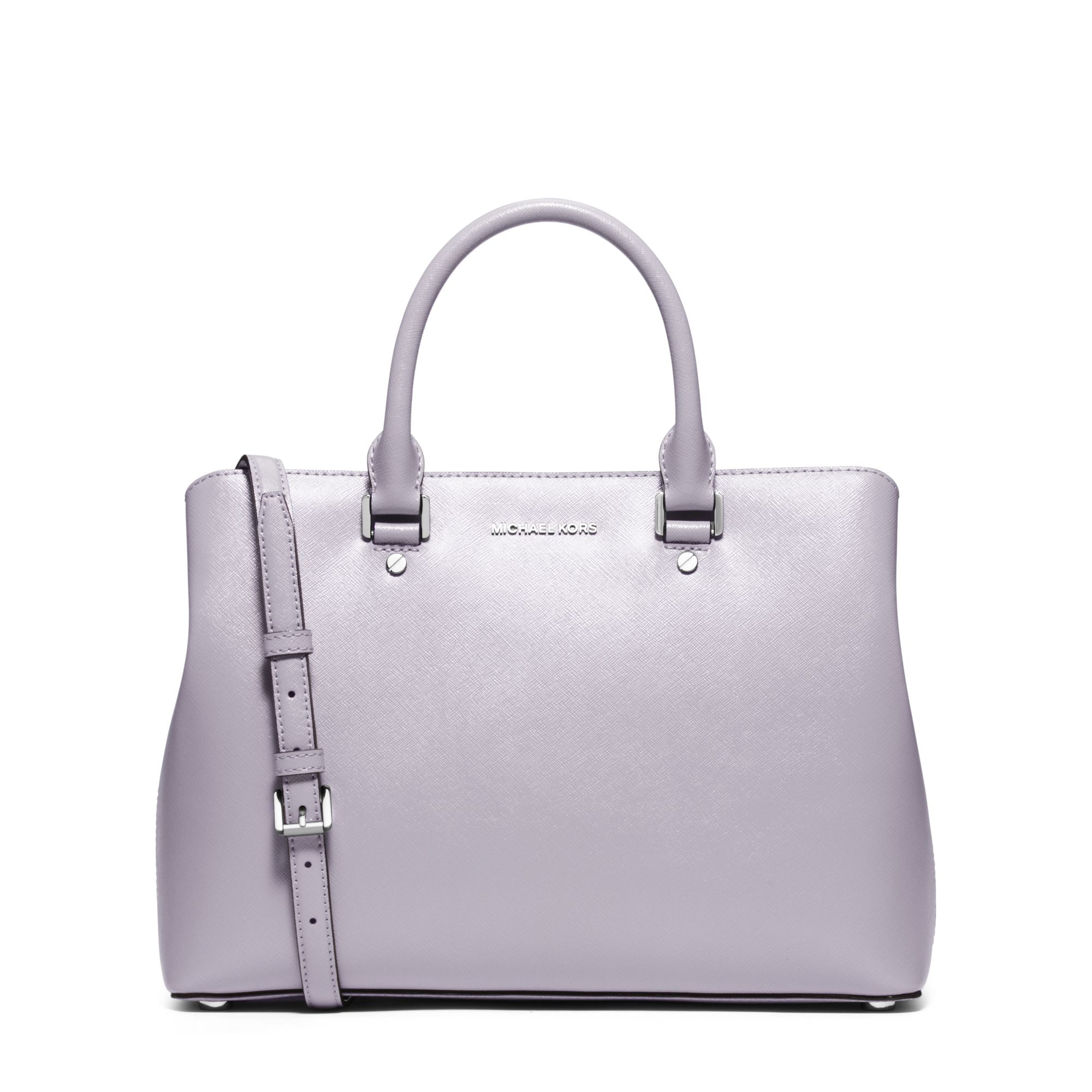 6d4e97d4d2c7 ... new zealand backpack c4412 eeb70 where to buy lyst michael kors  savannah large patent leather satchel