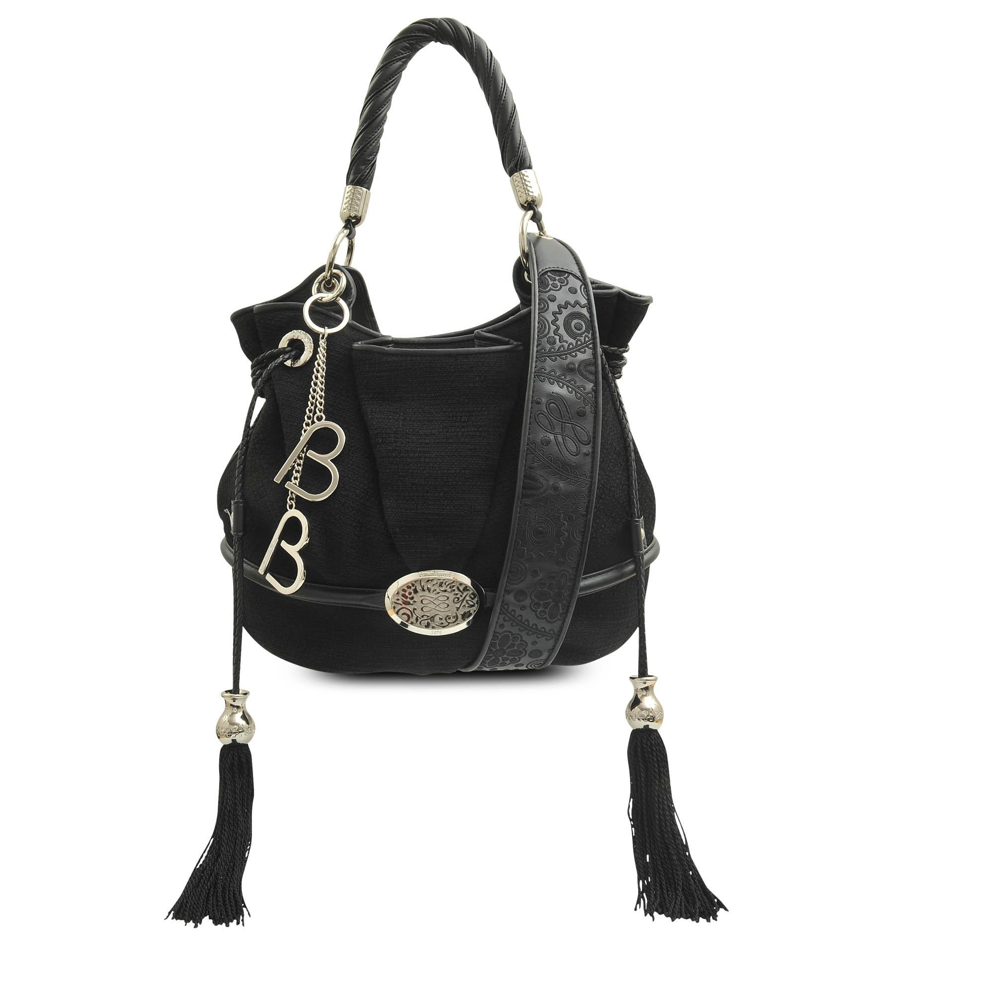 Lancel Brigitte Bardot Bucket Bag in Black