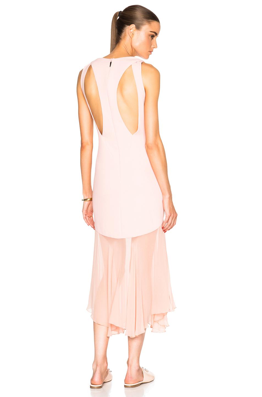 Prabal gurung Crepe Dress in Pink | Lyst