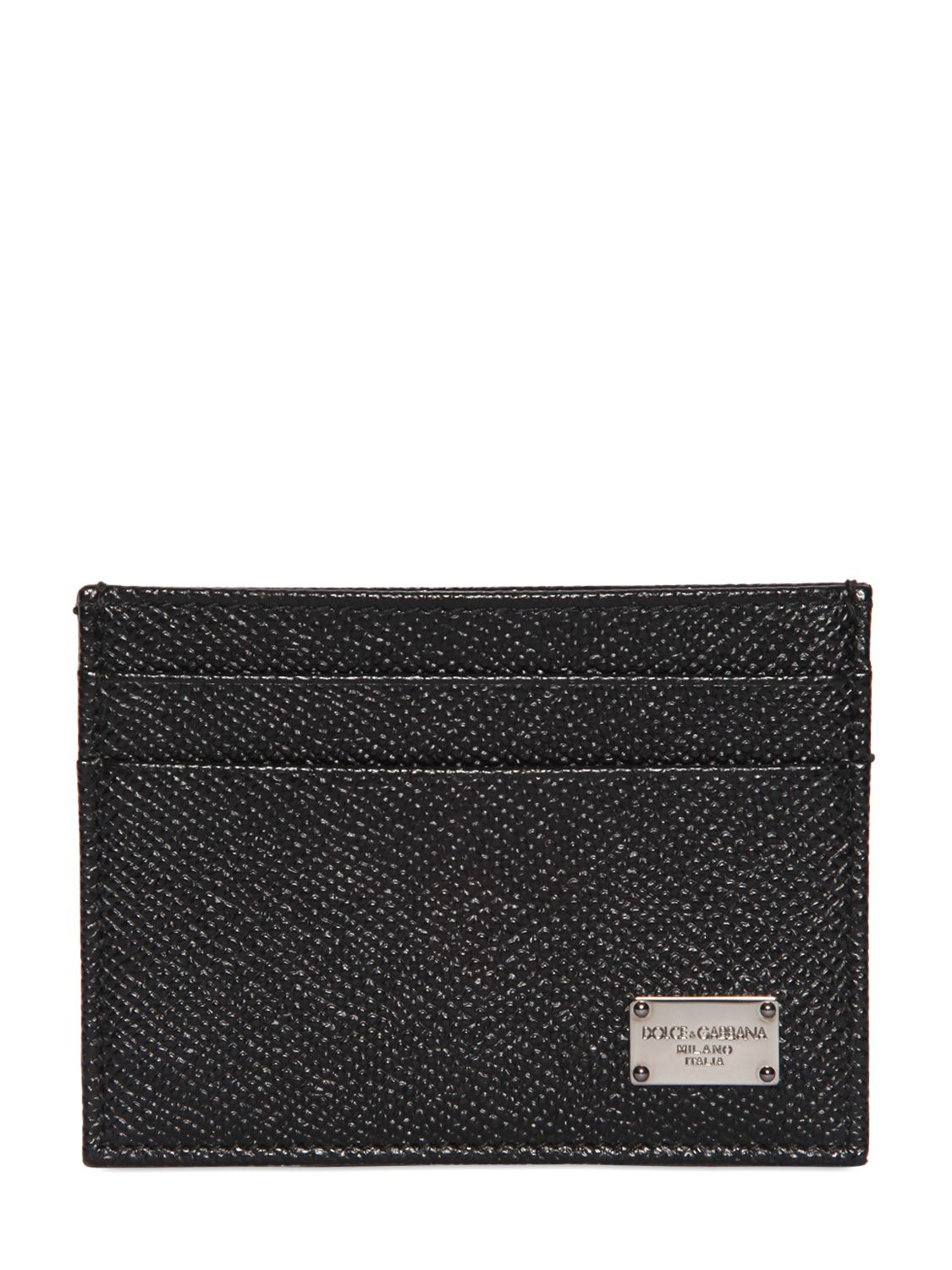 Leather card holder Dolce & Gabbana CIae06